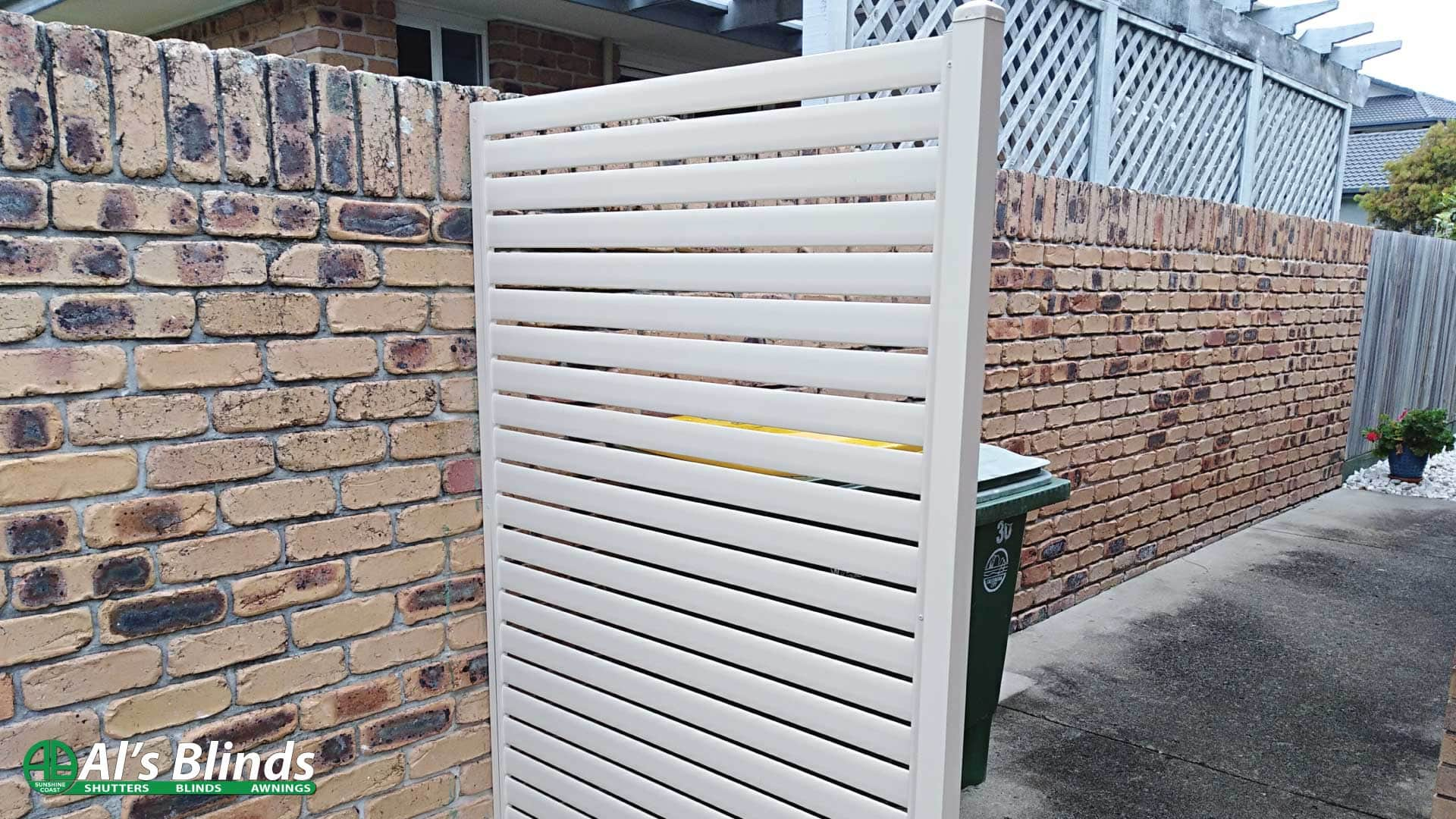 Strong Aluminium Privacy Screen