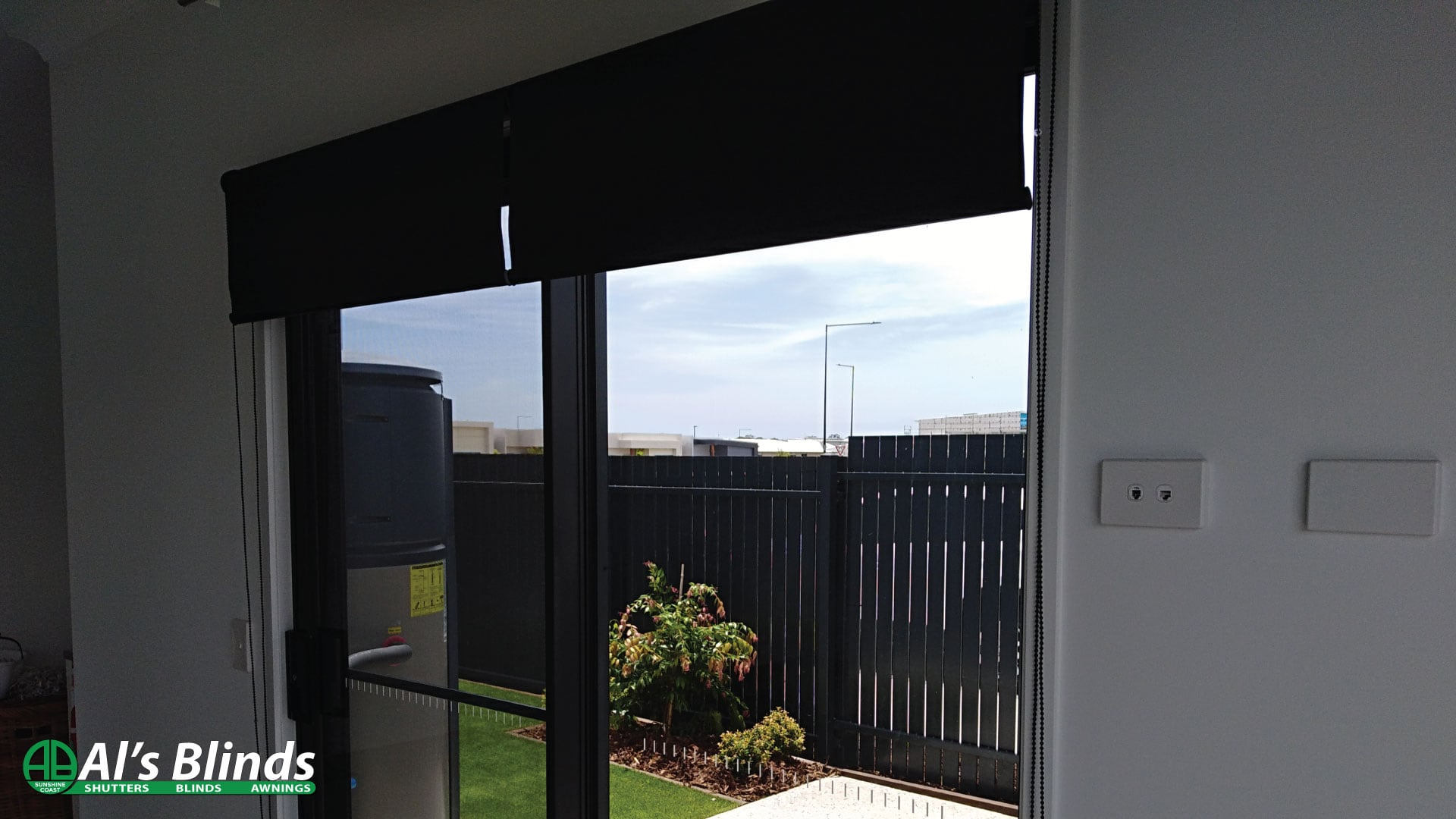 Twin Flat Fit Roller Blinds