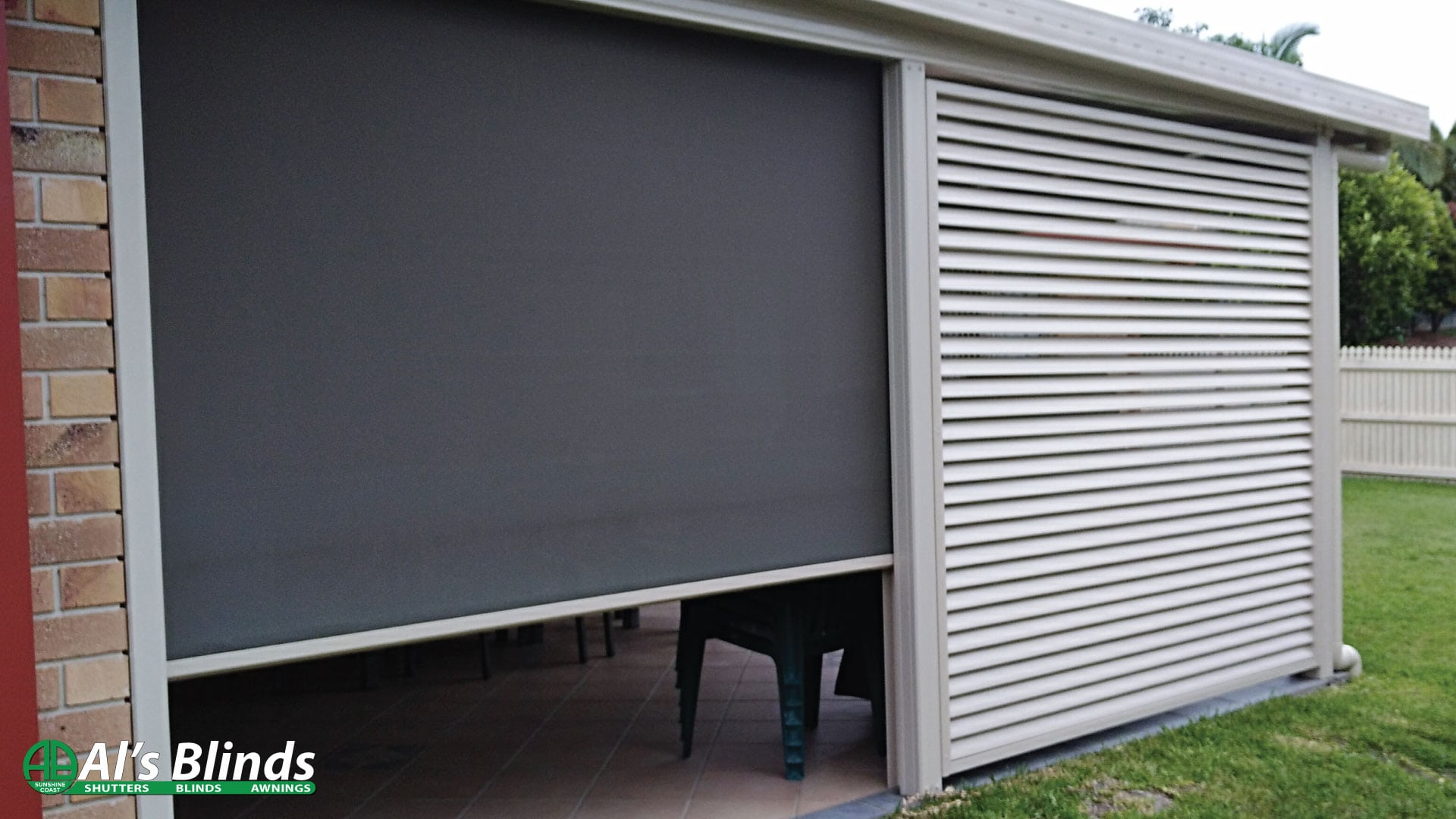 Multistop Awning & Aluminium Privacy Screen