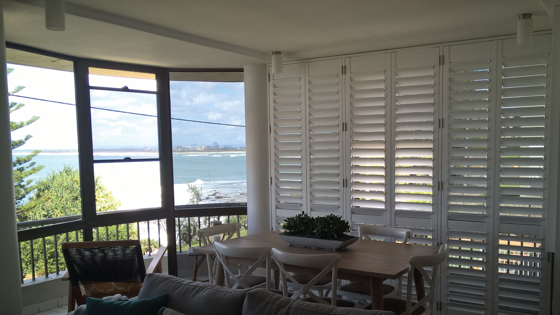 Als Blinds fitting Plantation Shutters on the Sunshine Coast