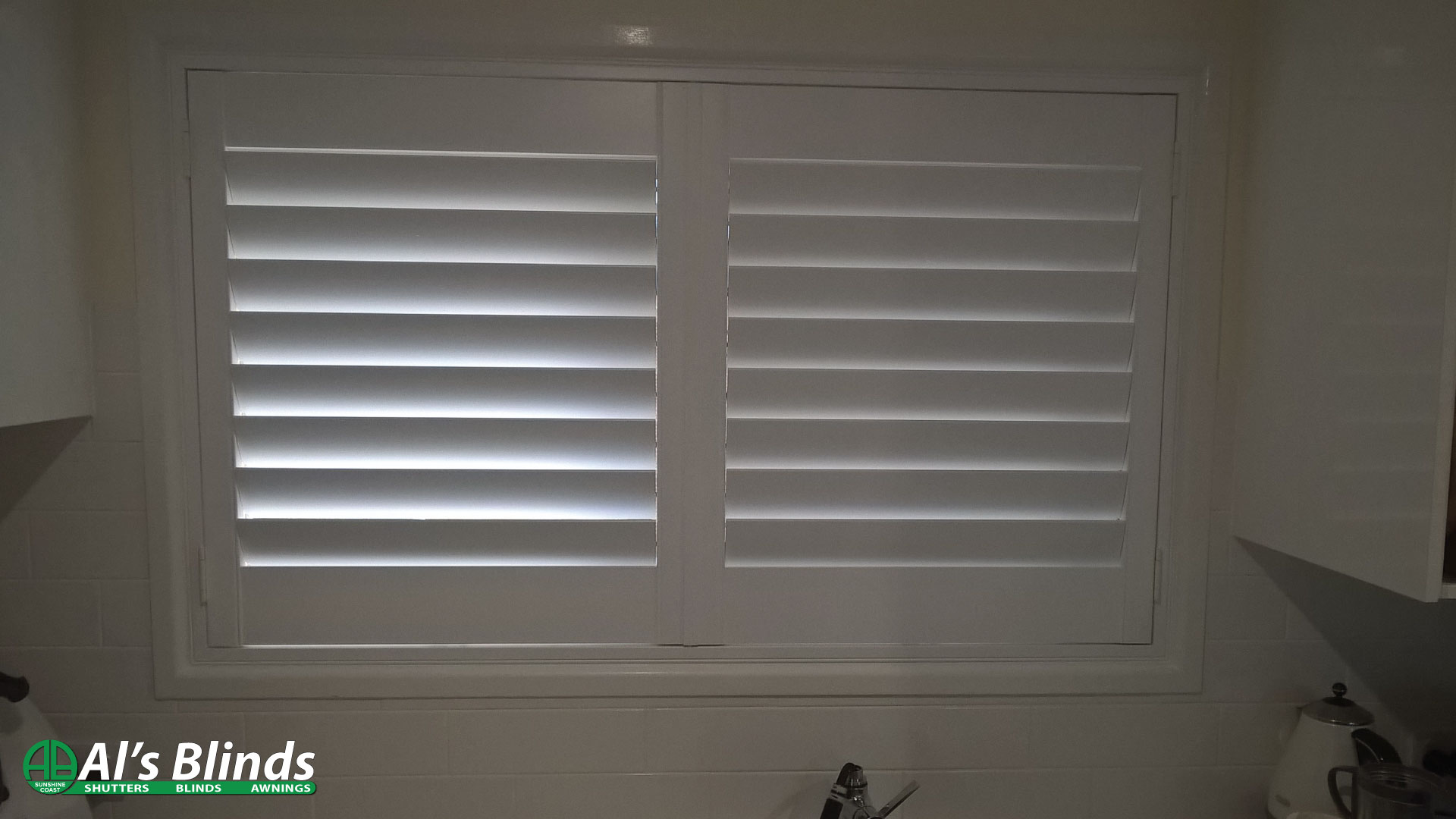 Polymer Window Shutters with hinged Panels