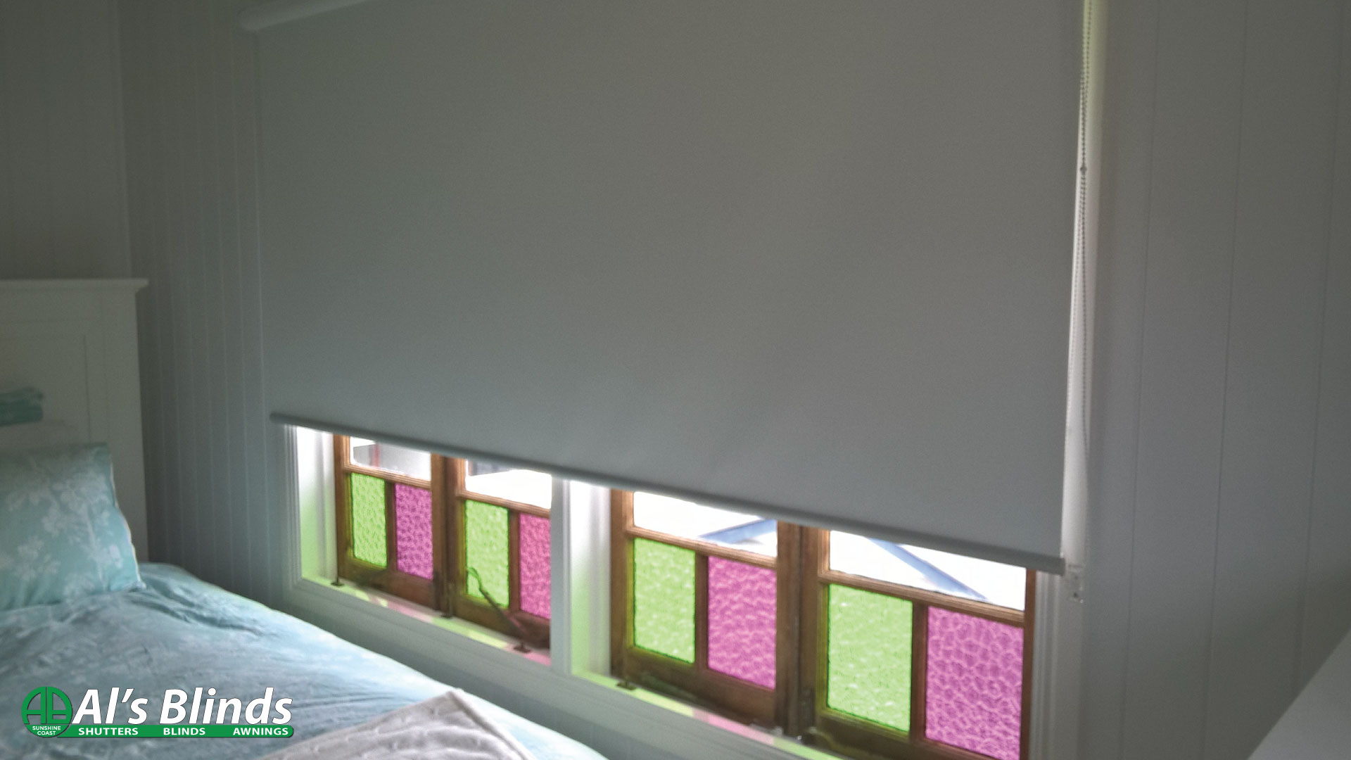 Roller Blind with Blockout Fabric