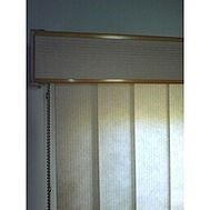 window blinds and pelmet image